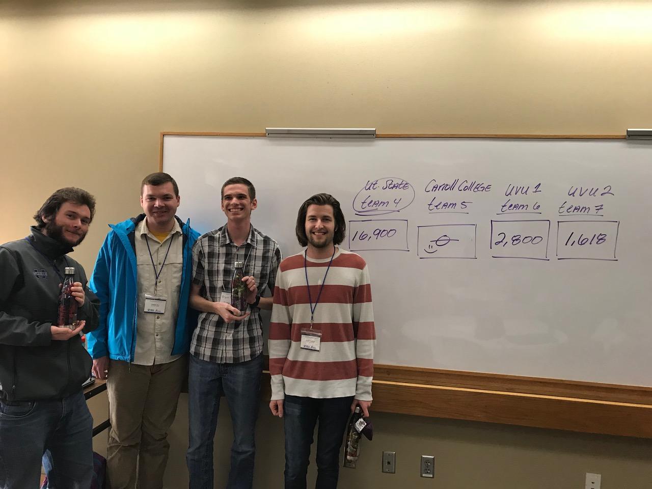 MAA Competition Winners | Utahstatemseg